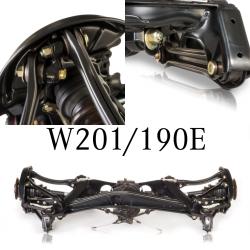 Überholte Fahrwerksteile - W201 190E