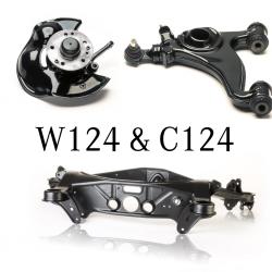 Überholte Fahrwerksteile - W124 & C124